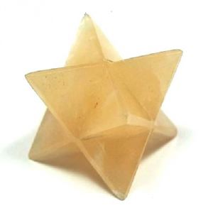 Yellow Aventurine Crystal Markaba / Star