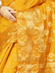 De Marca Gold Tussar Butti Saree - M1421