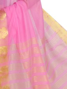 De Marca Cotton Rani Saree For Womens - M1453