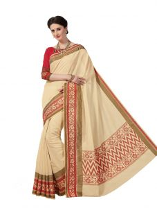 De Marca Multicolor Cotton Saree (product Code - Riya435)