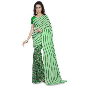 De Marca Multi Faux Georgette Saree (product Code - Tsand1185b)