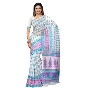 De Marca Multi Cotton Saree (product Code - Tsmrccan1030)