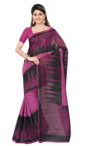 De Marca Pink Colour Cotton Blend Saree (product Code - Tsmrcczi1088)