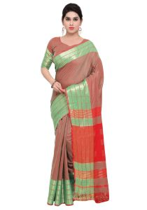 Demarca Multicolor Art Silk Blended Cotton Saree (code - Tsnast1505)