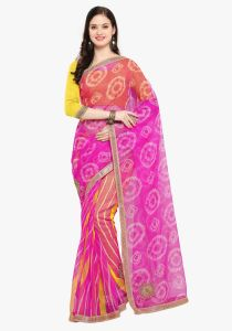 Demarca Multicolor Super Net Saree (code - Tsnrv3302)