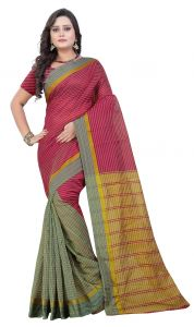 De Marca Multi Colour Art Silk Saree (product Code - Tswtdy13423)