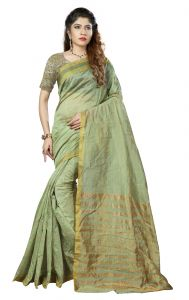 De Marca Green Colour Art Silk Saree (product Code - Tswtdy13424)