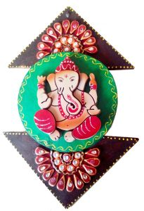 Chitrahandicraft Try Angle Ganesha