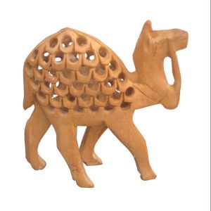 Chitrahandicraft Wooden Camel