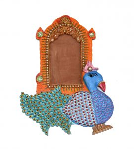 Peacock Decorative Photo Frame