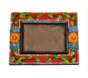 Flower Work Photo Frame