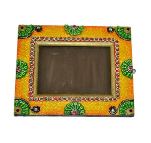 Green And Yellow Photo Frame