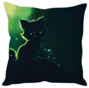 Stybuzz Innocent Kitty Cushion Cover