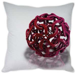 Stybuzz Red Ball Cage Cushion Cover