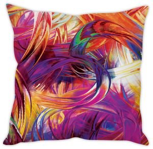 Stybuzz Stroke Art Cushion Cover