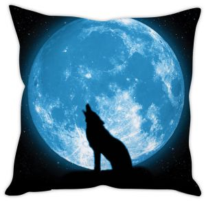 Stybuzz Howling Wolf Cushion Cover