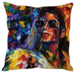 Stybuzz Michael Jackson Art Cushion Cover