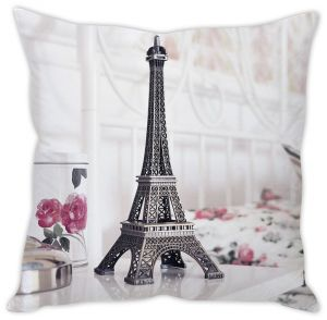 Stybuzz Eiffel Tower Cushion Cover