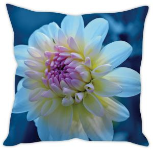 Stybuzz White Flower Cushion Cover