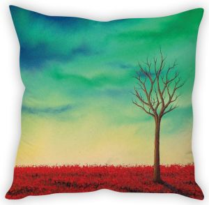Stybuzz Lone Tree Art Cushion Cover