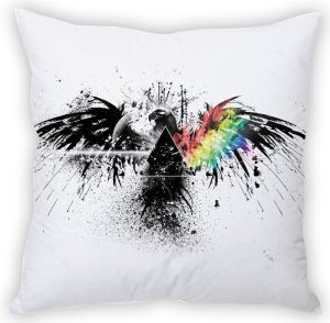 Stybuzz Pink Floyd Art Cushion Cover