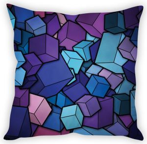 Stybuzz Cube Abstract Art Cushion Cover