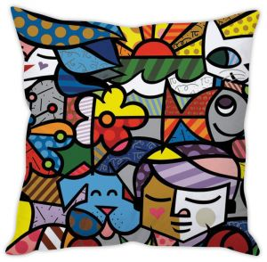Stybuzz Graffiti Art Cushion Cover