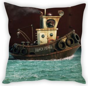 Stybuzz Black Pearl Cushion Cover