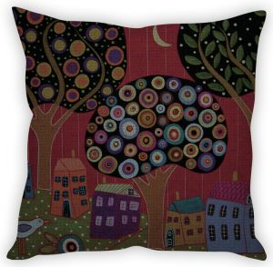 Stybuzz Abstract Painting Cushion Cover