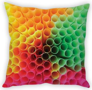 Stybuzz Coral Art Cushion Cover