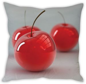 Stybuzz Red Cherry Cushion Cover
