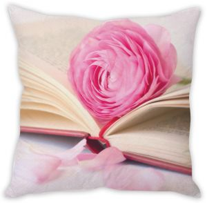 Stybuzz Pink Flowers Cushion Cover