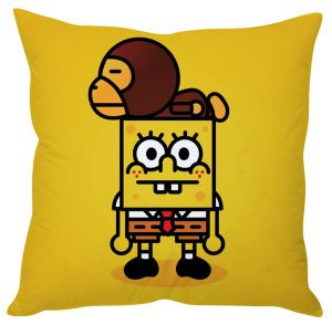 Stybuzz Funny Spongbob Cushion Cover