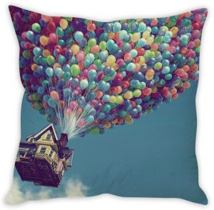 Stybuzz Up Flying House Cushion Cover