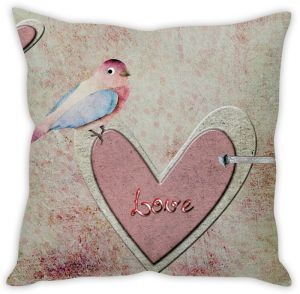 Stybuzz Bird With Love Cushion Cover
