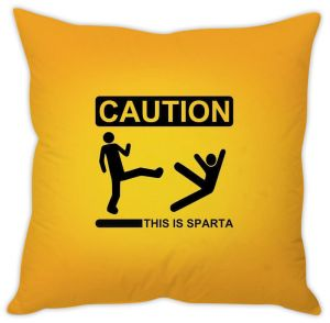 Stybuzz This Is Sparta Cushion Cover