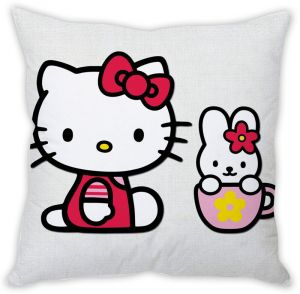 Stybuzz Hello Kitty Cushion Cover