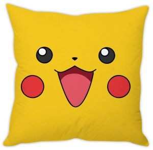 Stybuzz Pikachu Face Cushion Cover