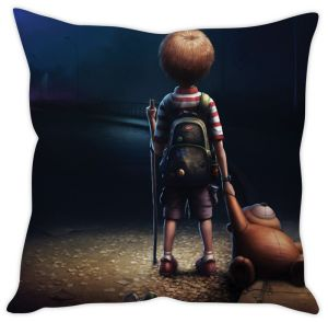 Stybuzz Alone Kid Cushion Cover