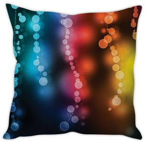 Stybuzz Rainbow Abstract Cushion Cover