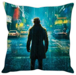 Stybuzz Walking In Rain Cushion Cover