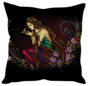 Stybuzz Beautiful Girl Cushion Cover