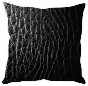 Stybuzz Leather Print Cushion Cover