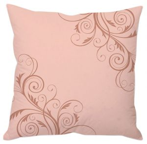 Pink Vine Abstract Art Cushion Cover