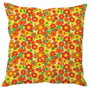 Multiple Small Flowers Cushion Cover