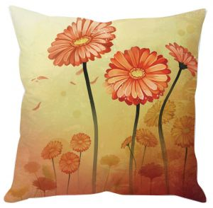 Three Flowers Cushion Cover