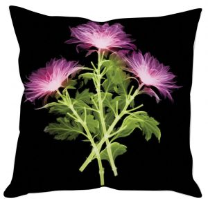 Illuminating Flowers Cushion Cover