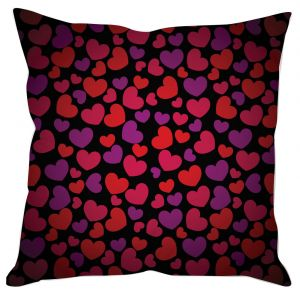 Cute Heart Print Cushion Cover