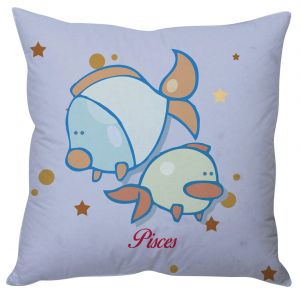 Stybuzz Pisces Zodiac Cushion Cover - Cc01563