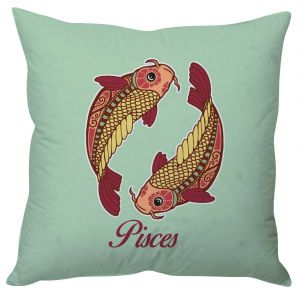 Stybuzz Pisces Zodiac Cushion Cover - Cc01577